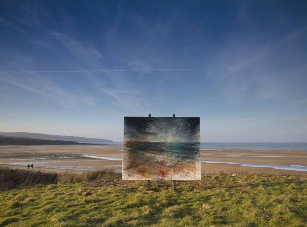 Lligwy Bay and Anthony Garratt's depiction of it