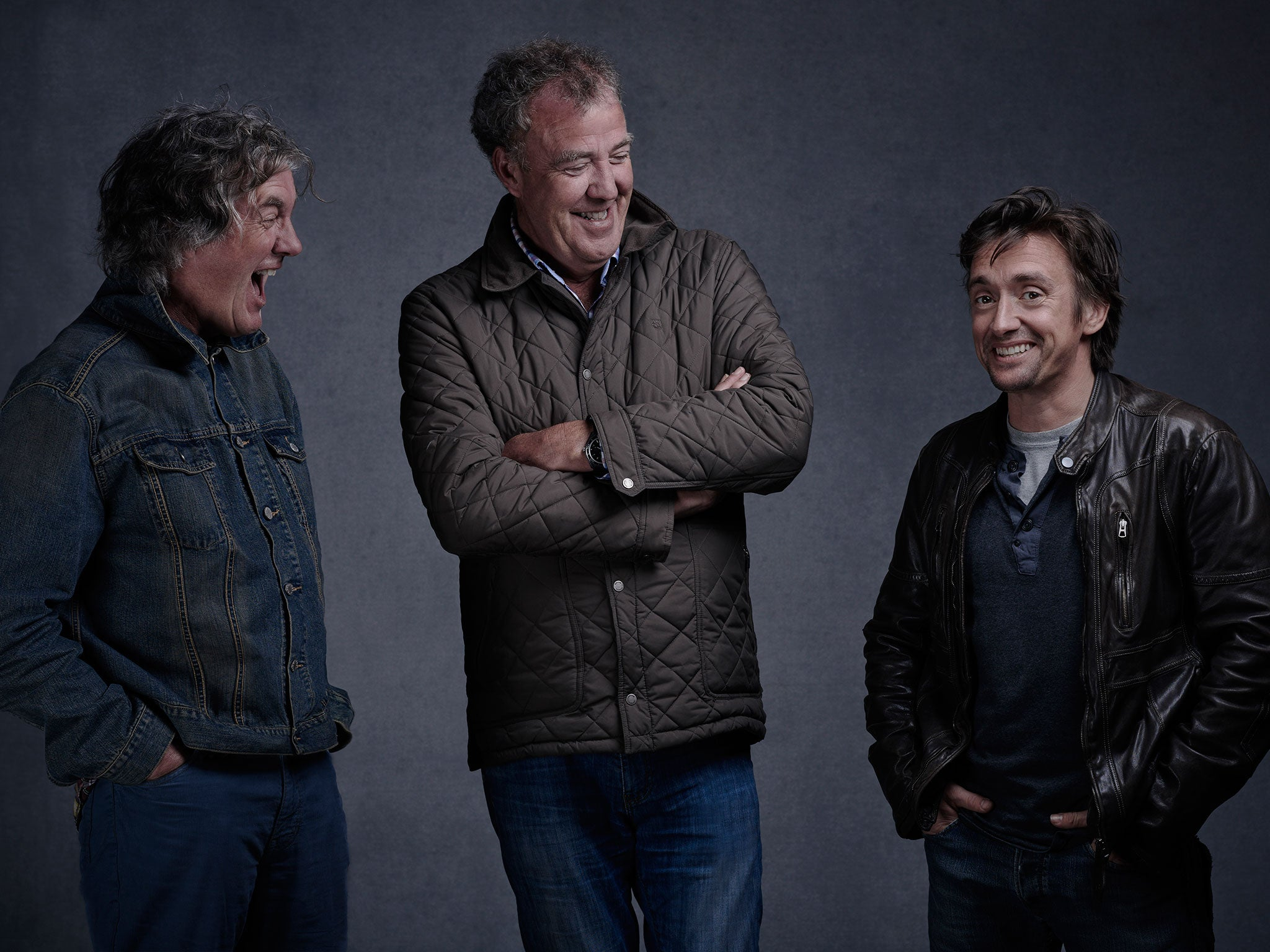 Top Gear trio crack jokes about BBC 'fracas' and hint at new American show