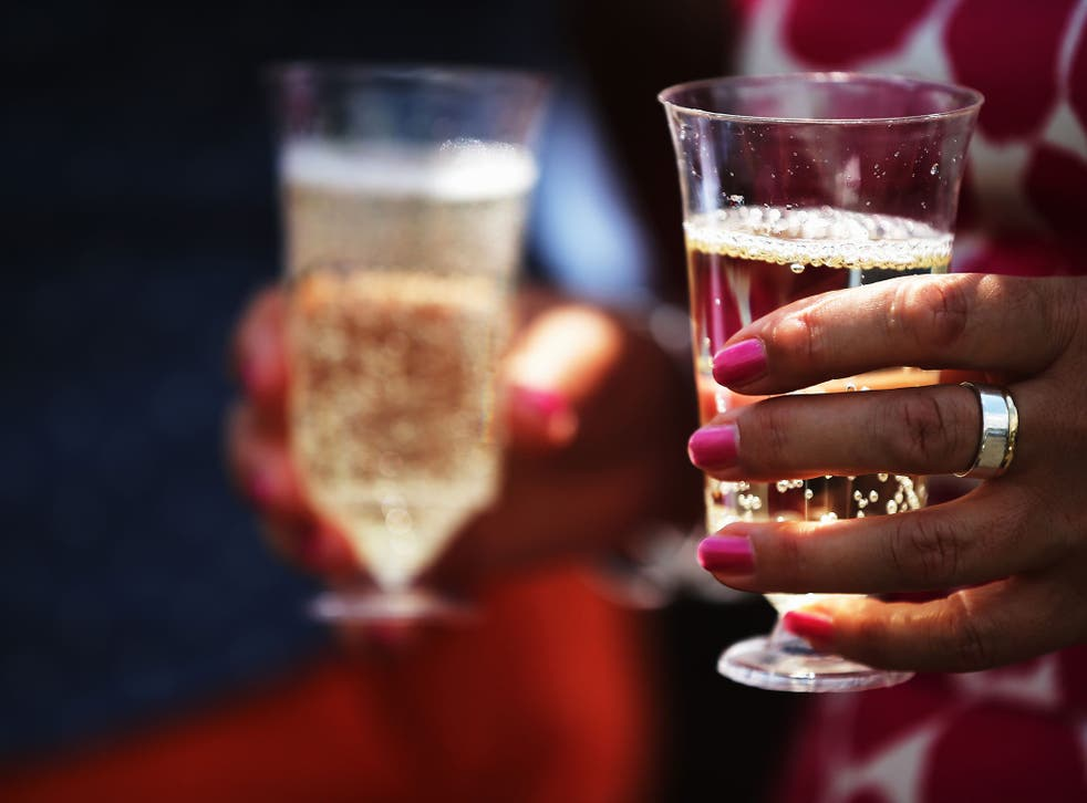 British women are drinking too much, according to a new survey