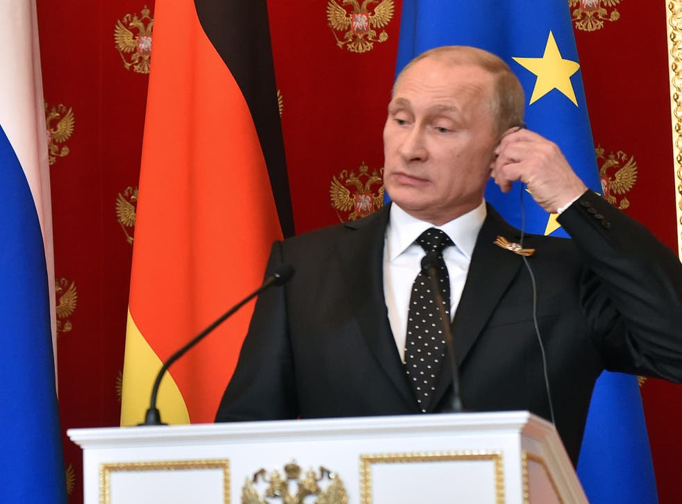 Vladimir Putin believes the West lacks the will to defend its principles, warns think-tank