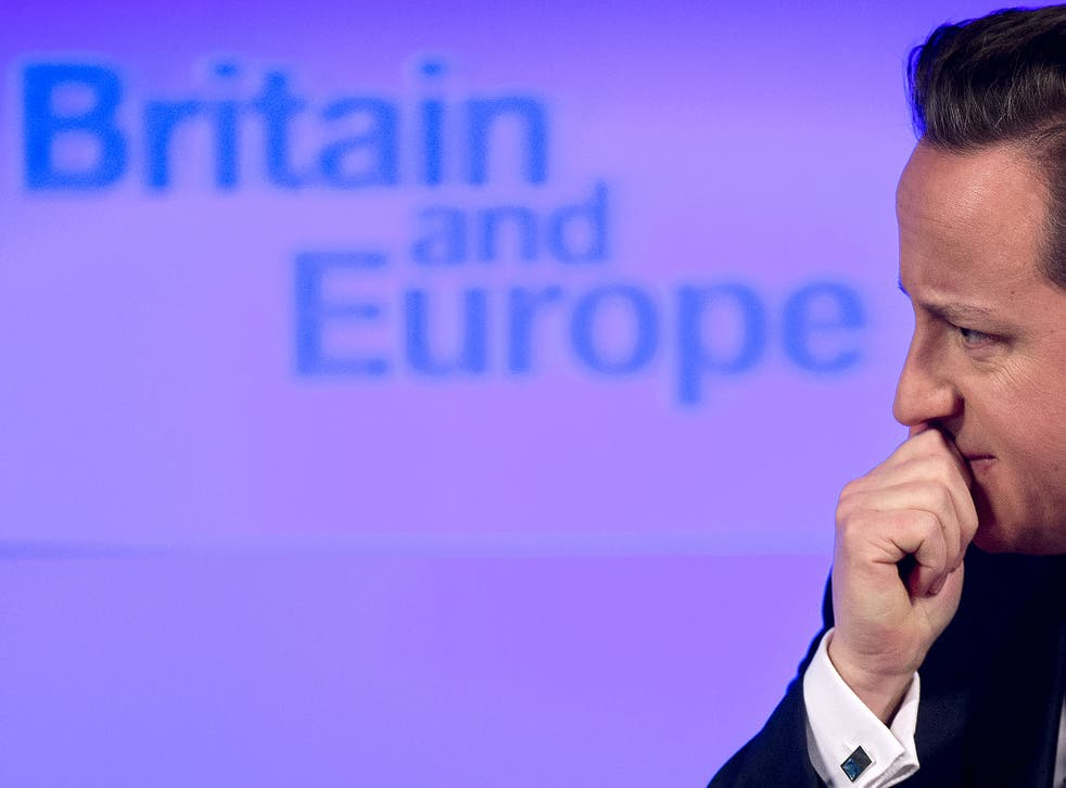 David Cameron hopes to renegotiate the terms of Britain's relationship with the EU, to give himself an advantage in the proposed EU referendum in 2017