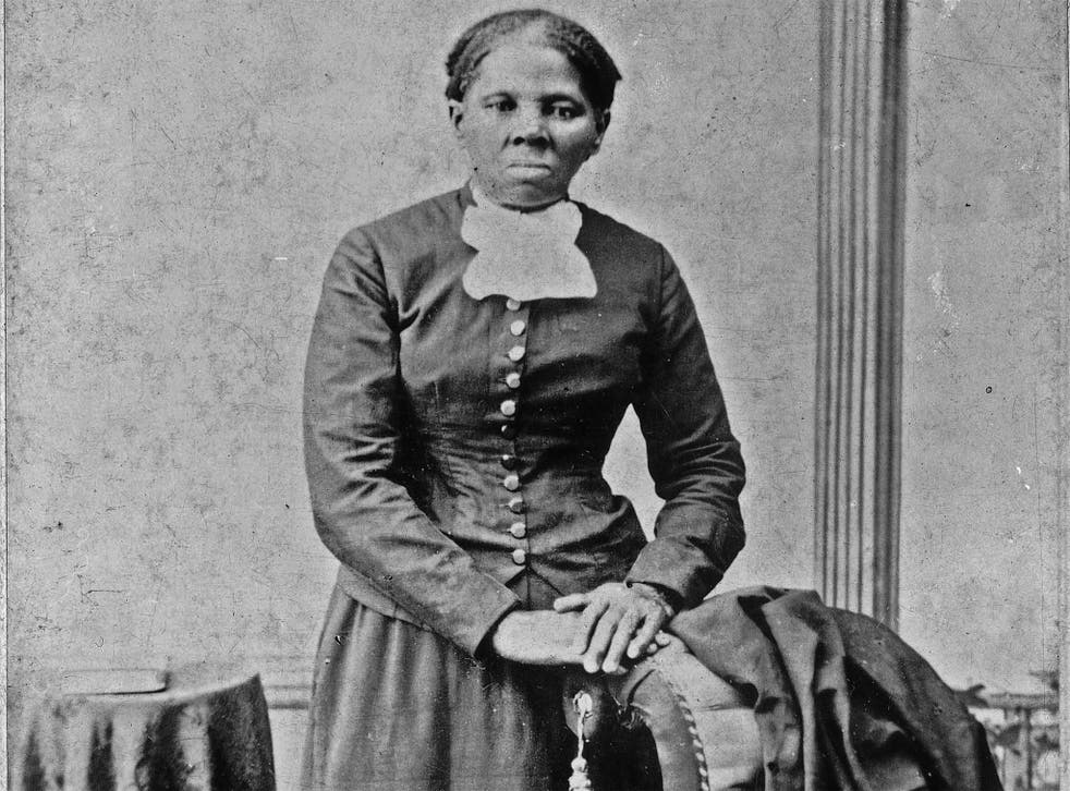 Harriet Tubman in a photograph dating from 1860-75. Her image proved the most popular in a public vote over historical figures to appear on US banknotes