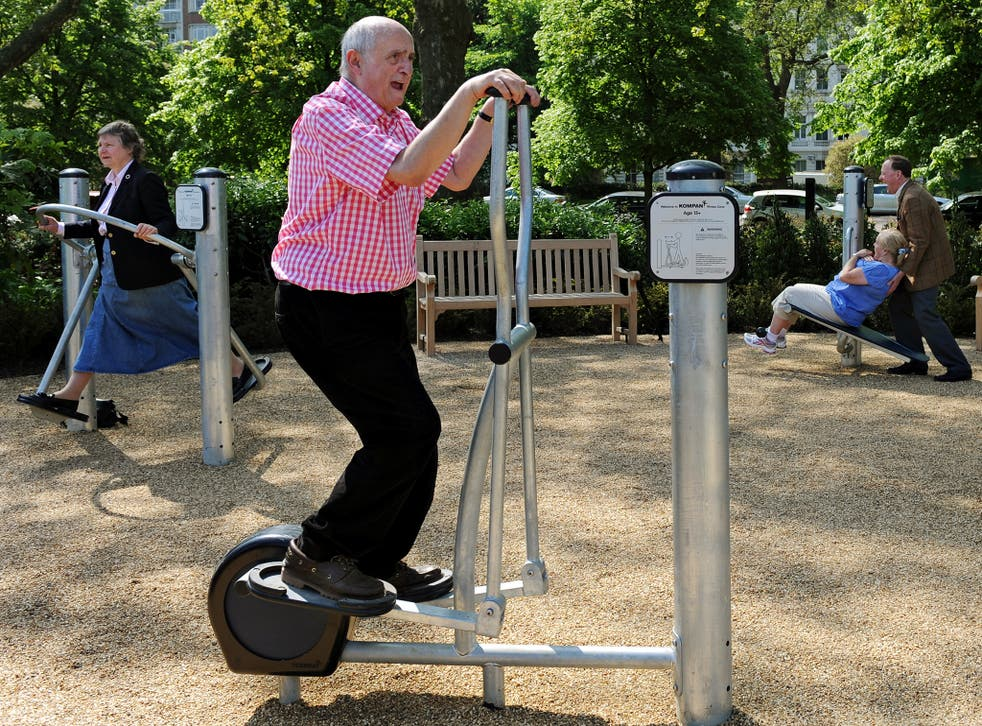 It was discovered that elderly men who kept active were far less likely to die
