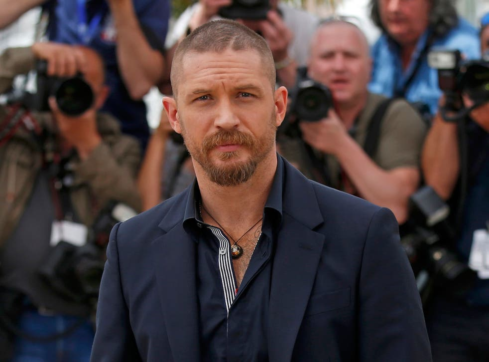 Tom Hardy at a photocall for 'Mad Max: Fury Road' at the Cannes Film Festival