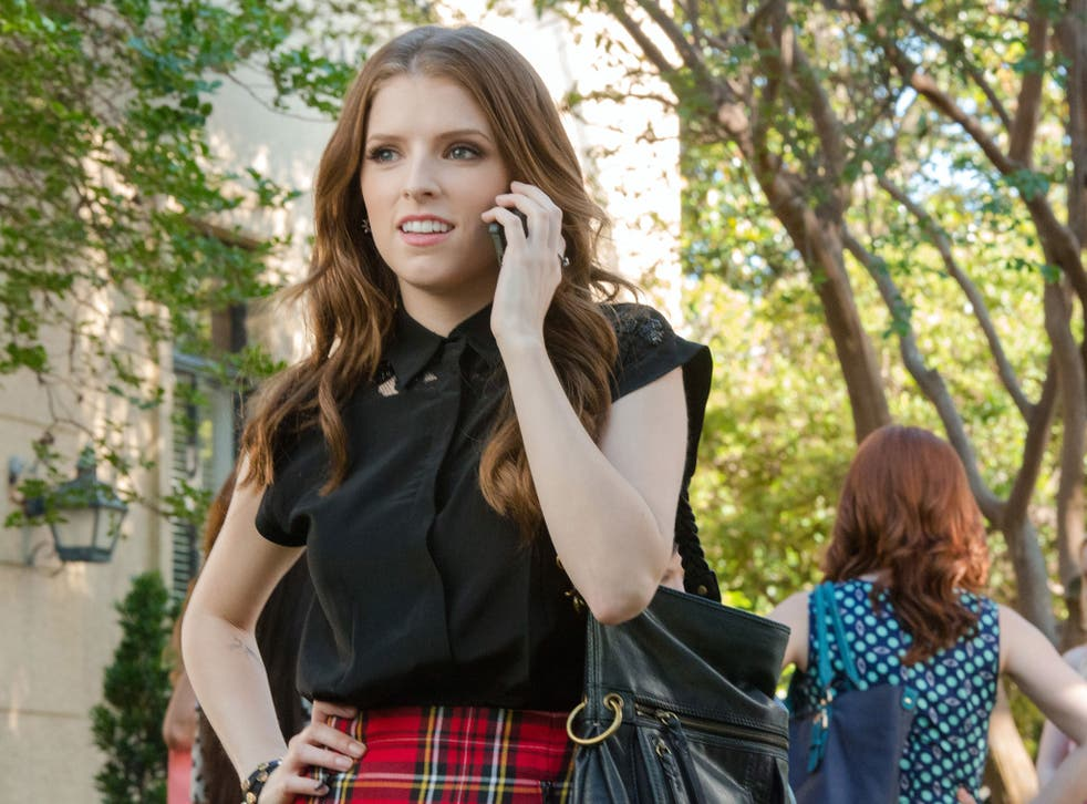 Anna Kendrick as Beca, in Pitch Pefect 2