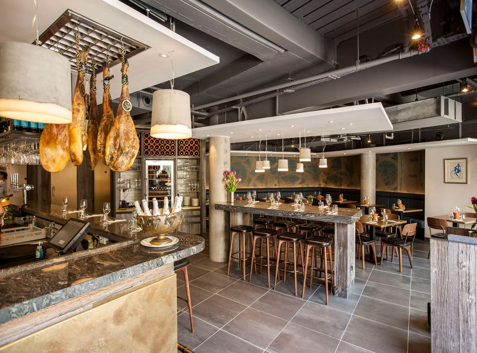 José Pizarro has expanded into large, brand-new premises in Broadgate Circle