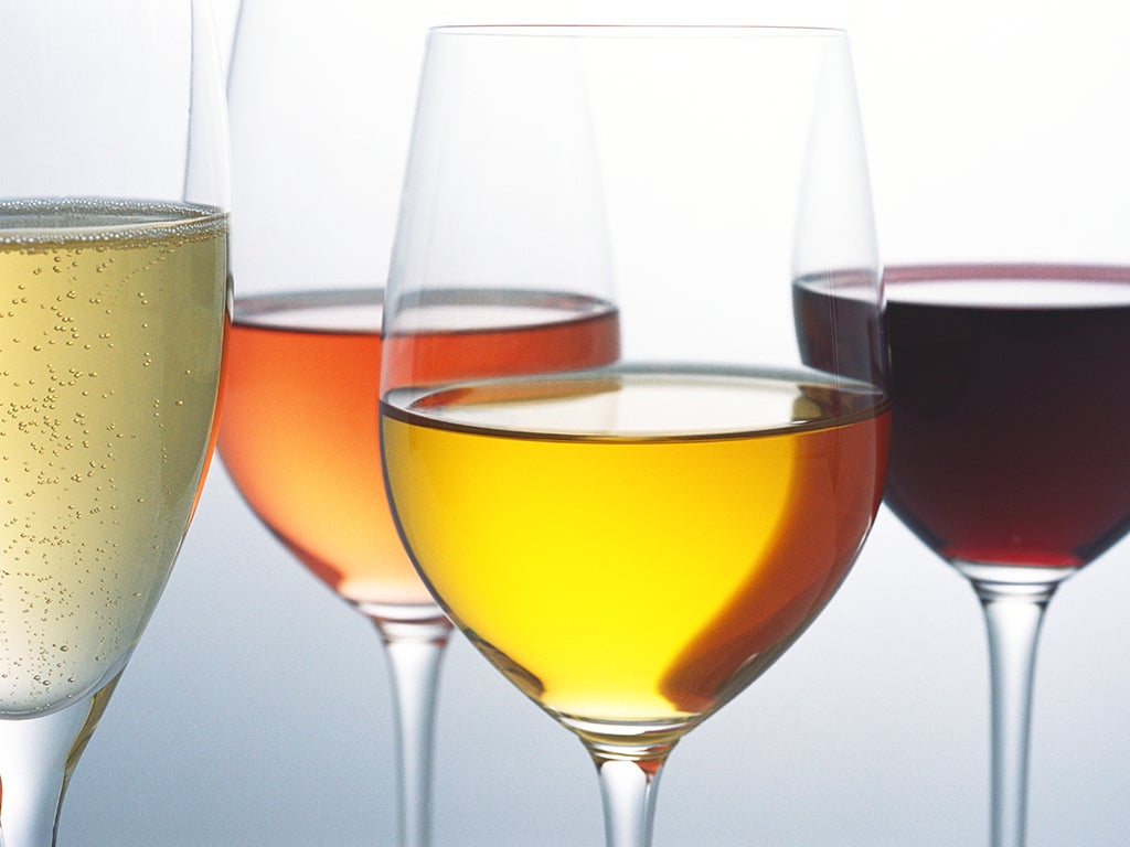 Red, white, rose, sparkling: Which wine is the healthiest?