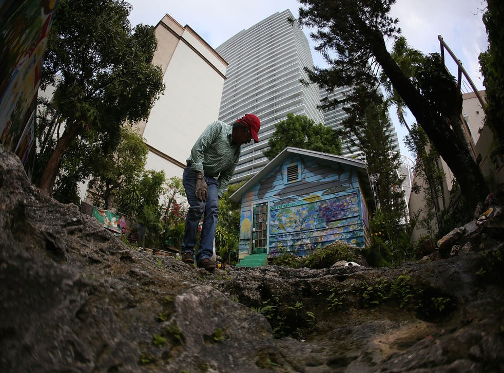 Ishmael Bermudez has said the land his home is built on is sacred