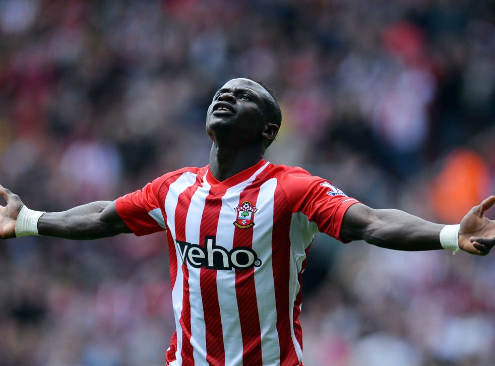 Sadio Mane Hat Trick Record Southampton Forward Breaks Robbie Fowler S Record As He Scores Three Goals In Two Minutes And 56 Seconds The Independent The Independent