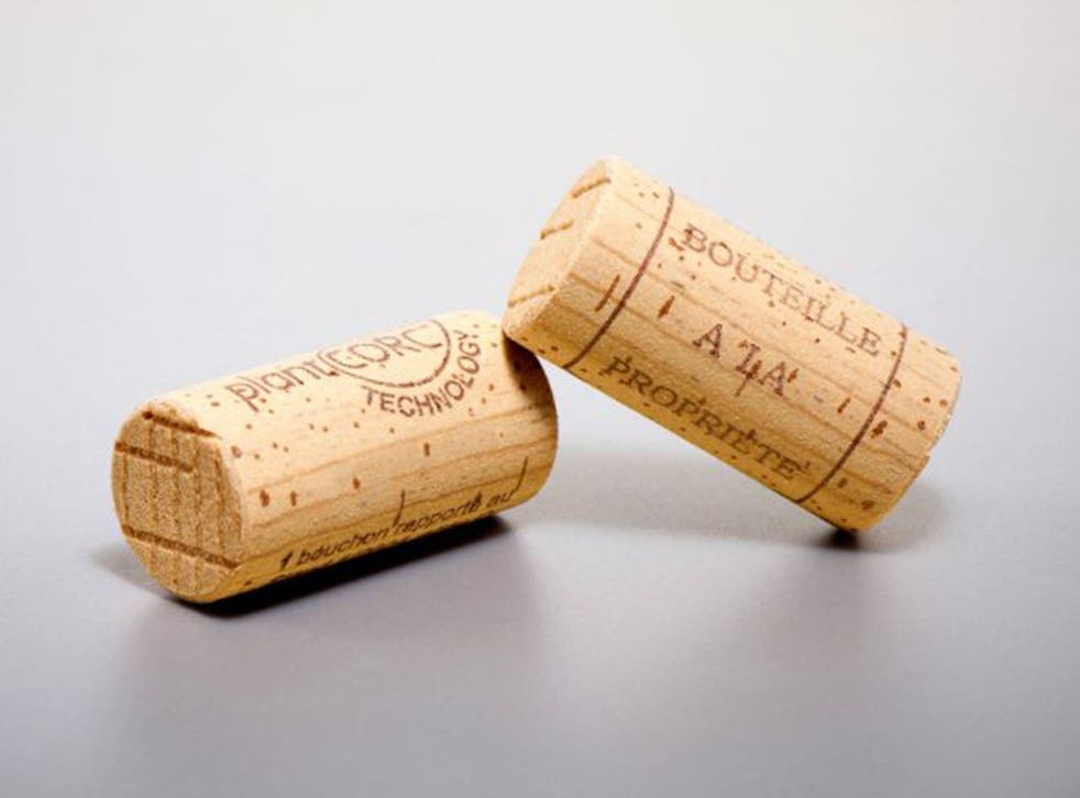 The new cork's manufacturers claim theirs is the first carbon-neutral, fully re-cyclable wine cork on the market