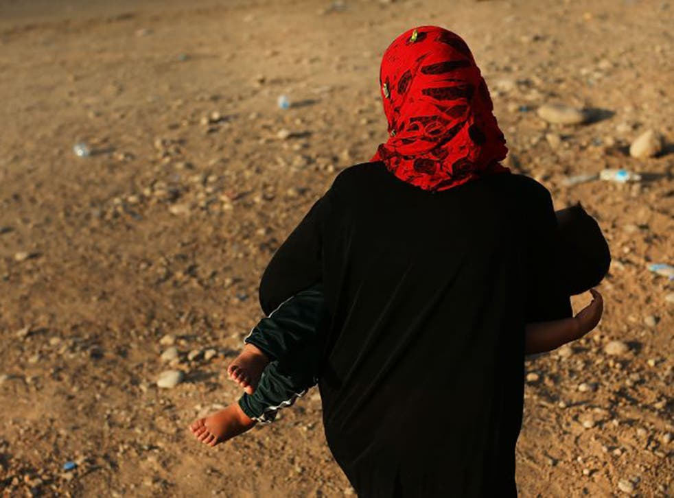 IS militants' extreme version of Sharia is forcing women into 'marriage' (AFP)