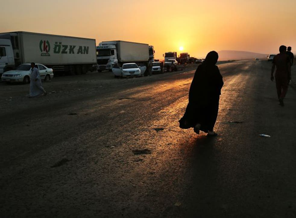 Women are being forced to seek refuge in Iraqi Kurdistan in order to escape the tightening grip of IS
