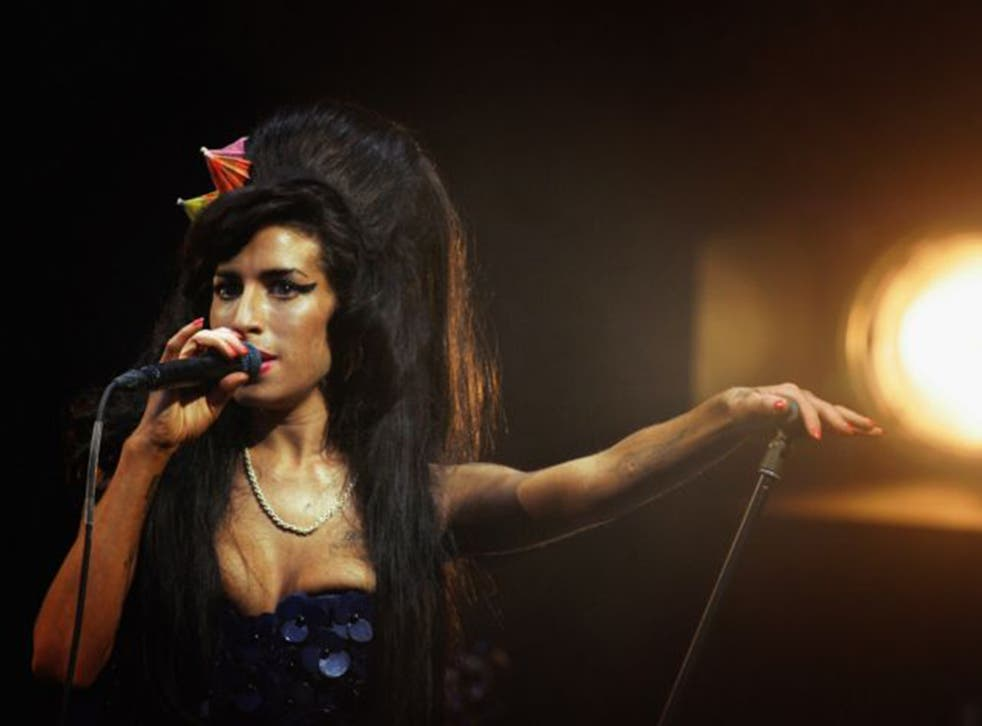 Winehouse won the Best British Female Brit award in 2007 on the back of her hit Back To Black album