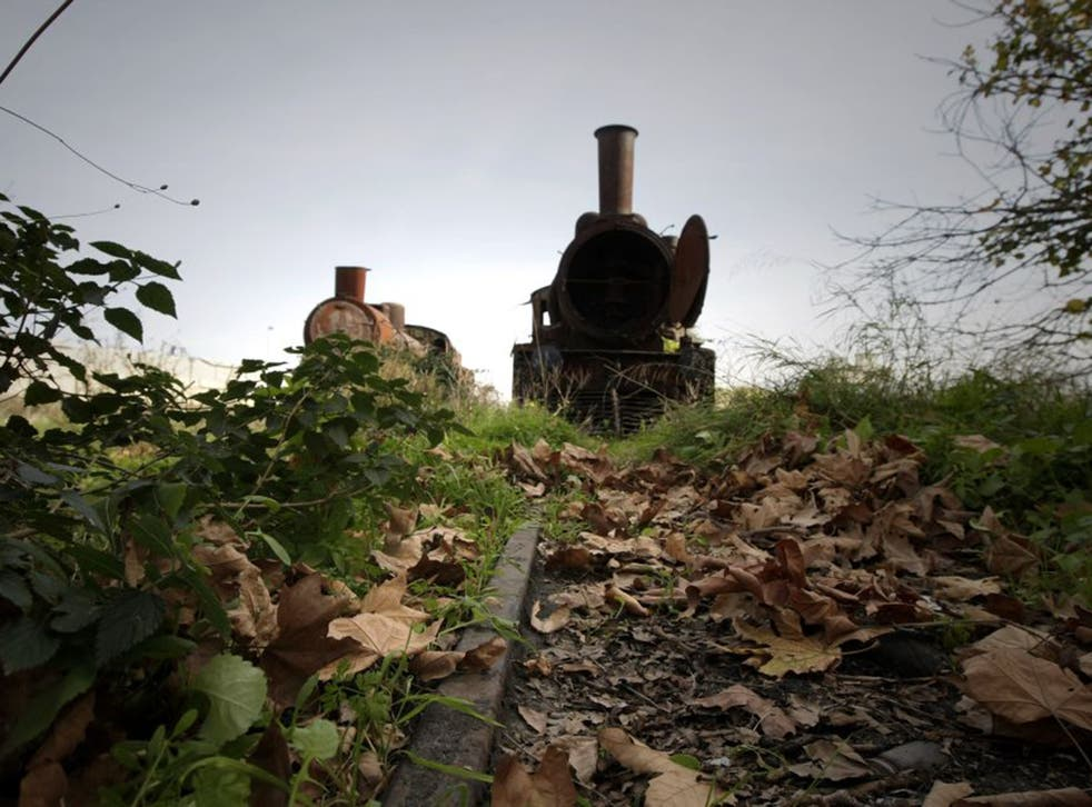 Broken Lines: Trains have been left to rust in Tripoli