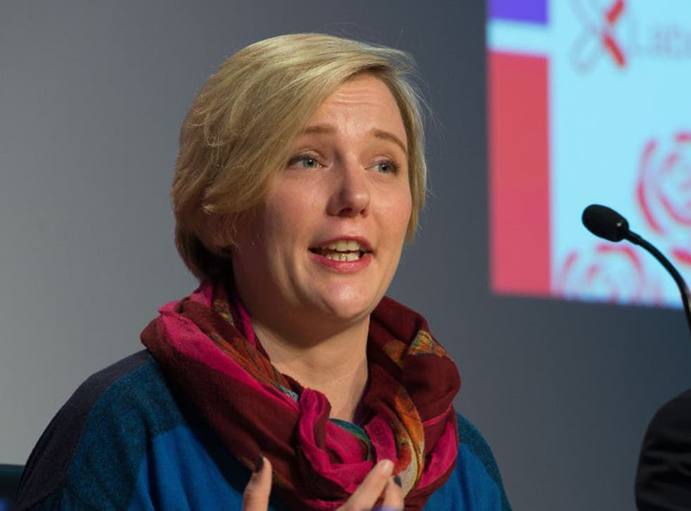 Stella Creasy came joint top on 29 per cent in a survey polling deputy leadership candidates (PA)