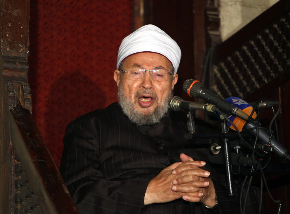 Qaradawi addresses supporters