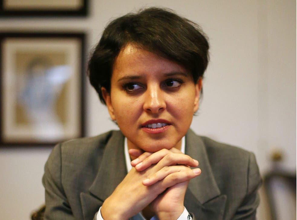 Najat Vallaud Belkacem is facing strikes from seven teaching unions