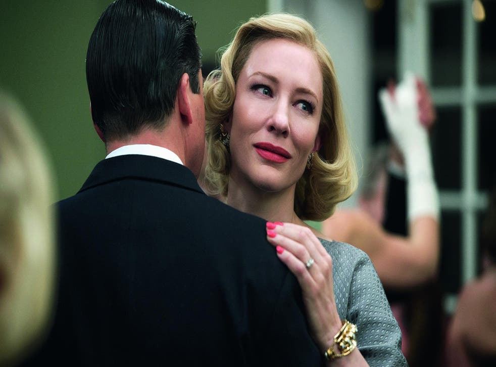 Cate Blanchett stars in Carol as a woman who realises she has lesbian desires