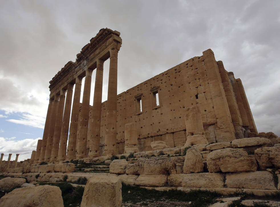Palmyra is a Unesco World Heritage site