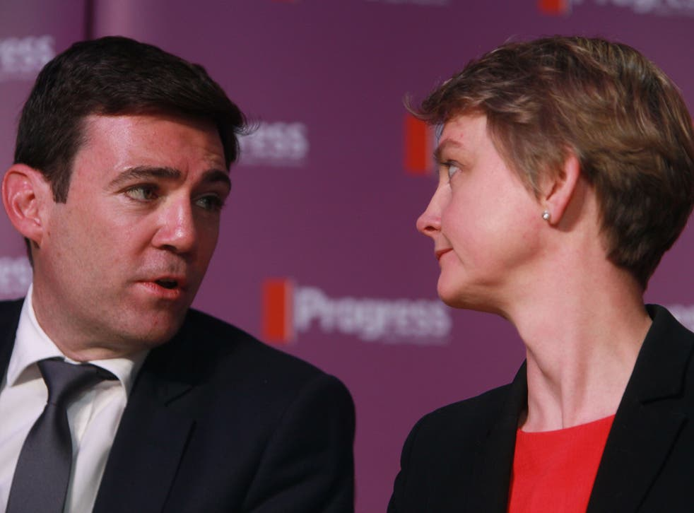 There are fears that the Unite union are trying to manipulate the Labour leadership contest into a two-horse race between Andy Burnham and Yvette Cooper