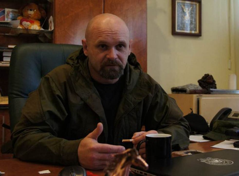 Aleksey Mozgovoi is a leading rebel commander in Alchevsk, in eastern Ukraine, known to be on difficult terms with the Kremlin-appointed separatist leadership of the Luhansk People's Republic