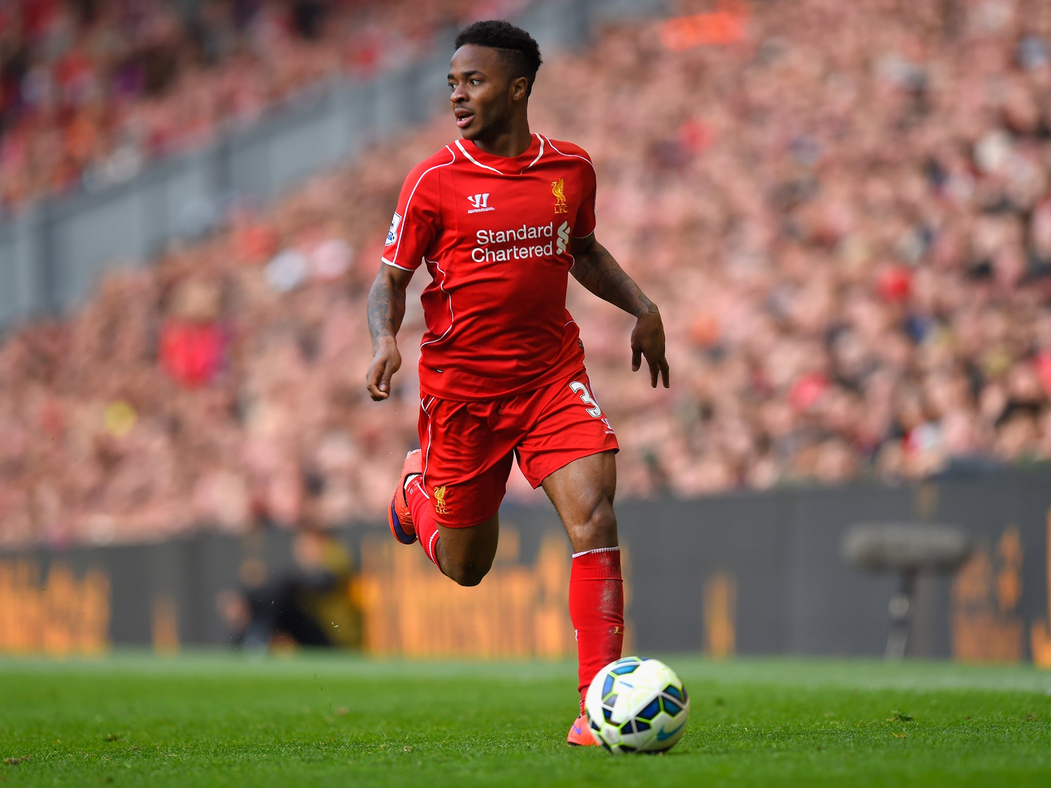 Raheem sterling transfer england international tells for The sterling