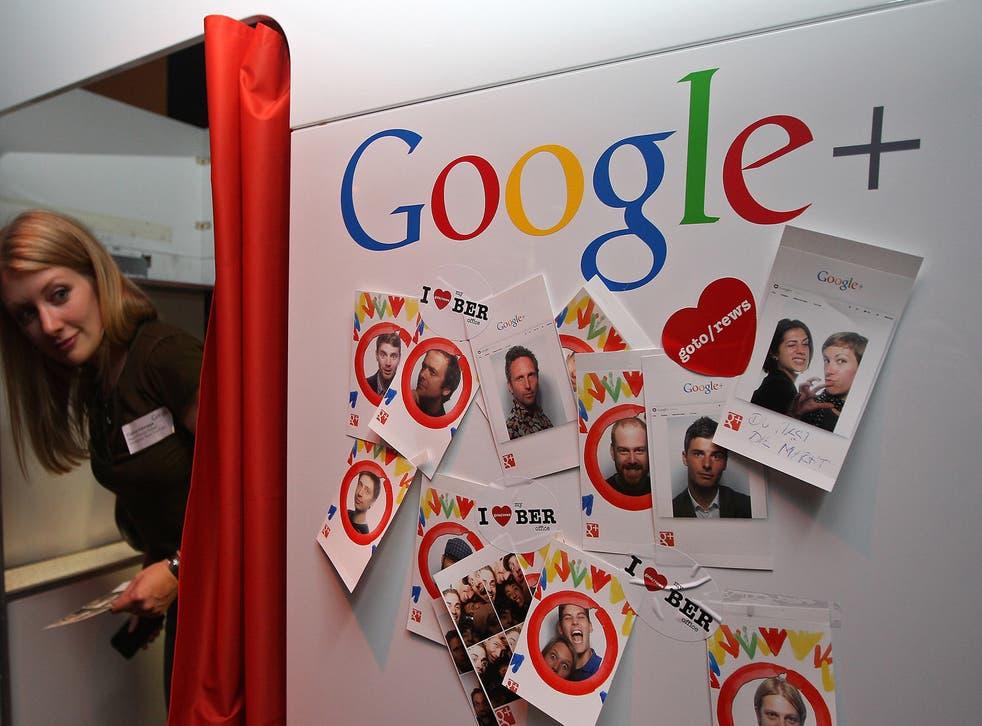 Google+ photo booth