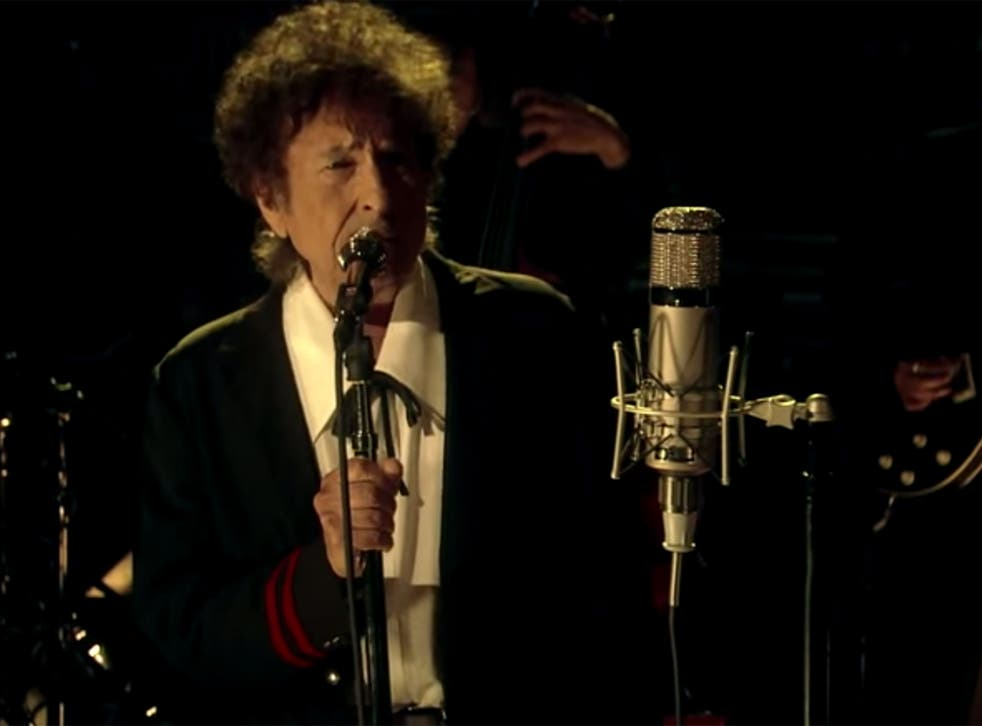 Bob Dylan performs 'The Night We Called It A Day' on David Letterman's penultimate Late Show