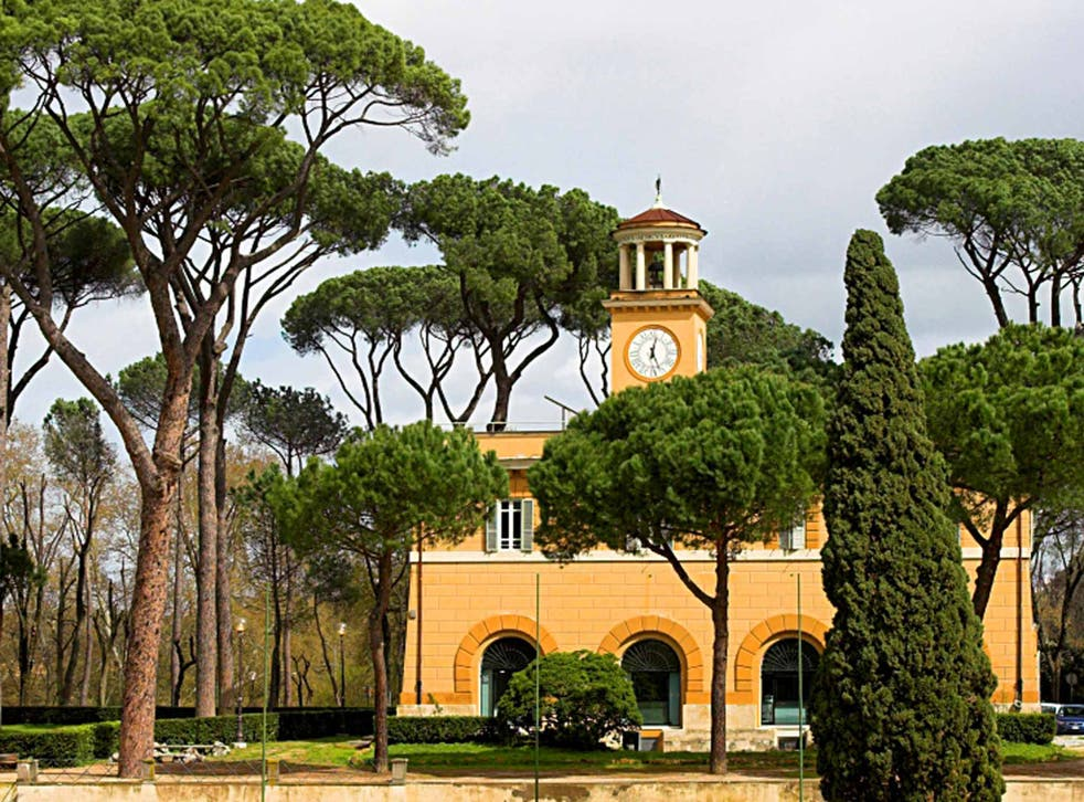 Tranquil escape: the Borghese Gardens