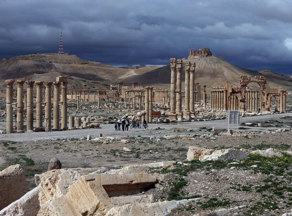 Isis seized the citadel and columns of the ancient oasis city of Palmyra, 133 miles north-east of Damascus