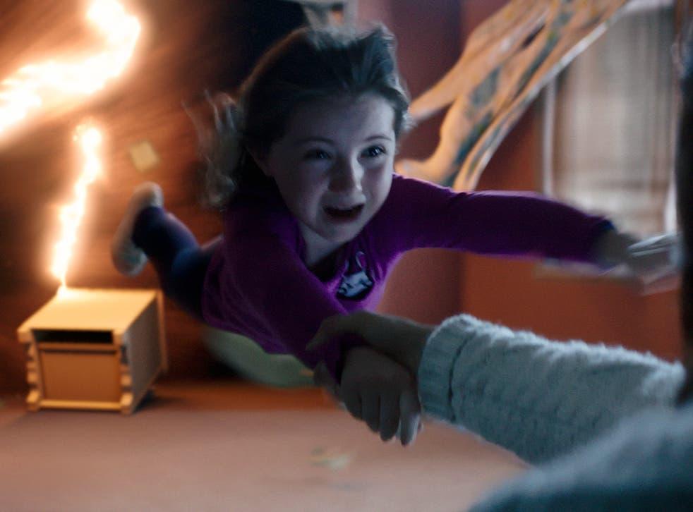 Kennedi Clements stars in Gil Kenan's remake, 'Poltergeist 3D'