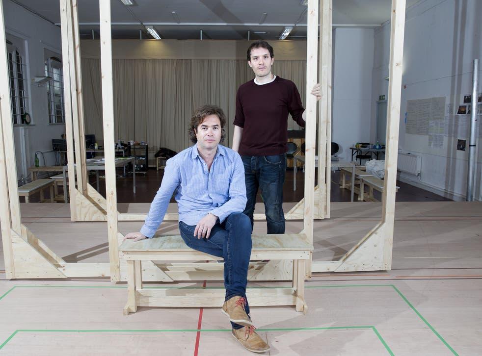 Directors Rupert Goold and Robert Icke