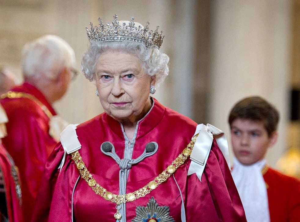 Queen Elizabeth II attends a service for the Order of the British Empire at St Paul's Cathedral on March 7, 2012 in London, England.