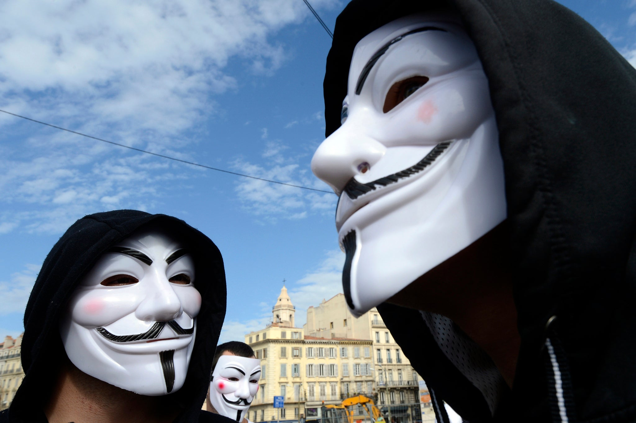 achat original chaussure vente la moins chère Anonymous: How the Guy Fawkes mask became an icon of the ...