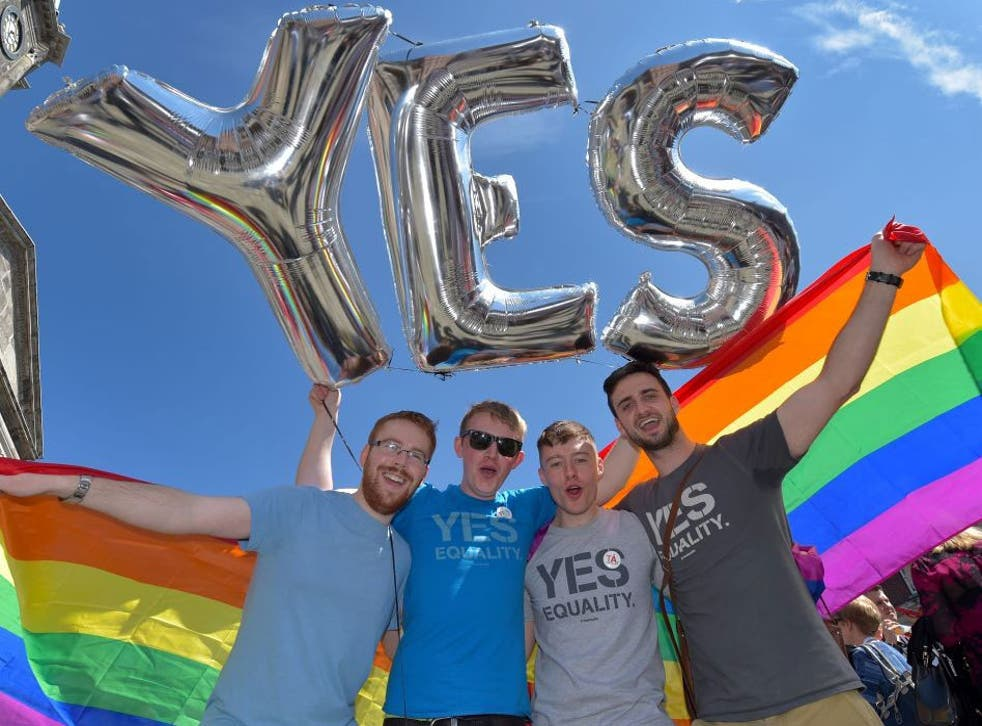 Ireland was expected to legalise same-sex marriage
