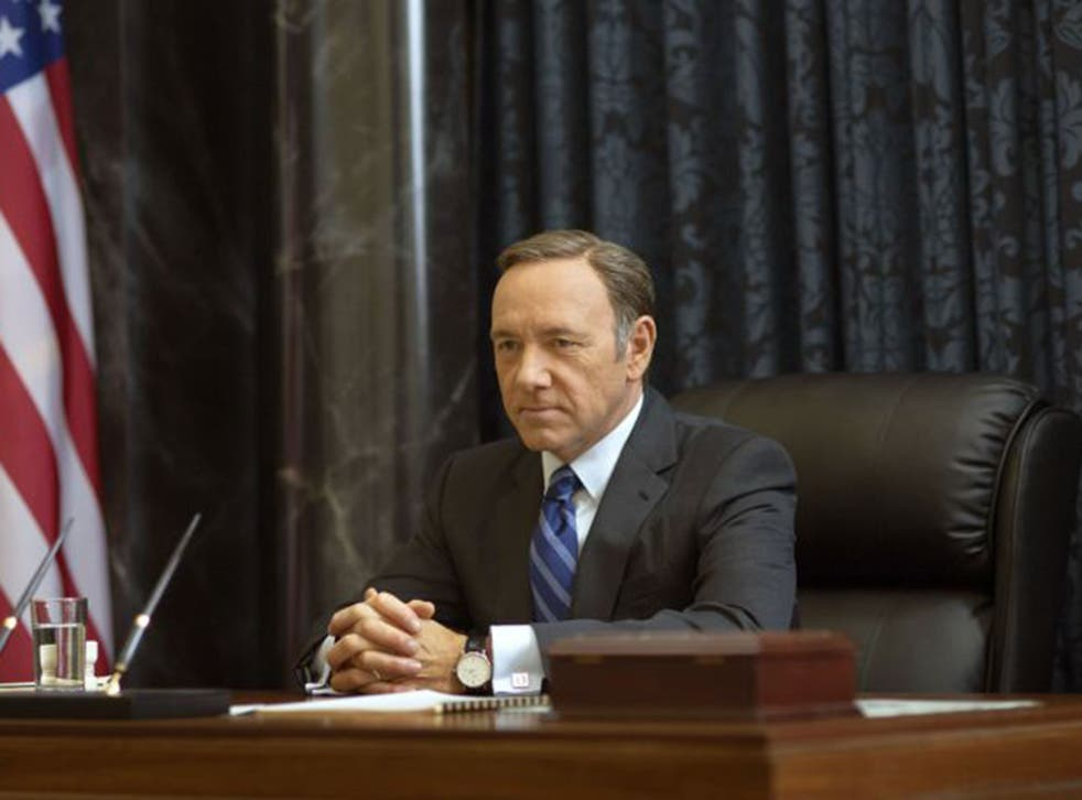 Kevin Spacey as Francis Underwood in 'House of Cards' (AP