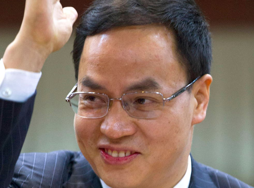 Mr Li increased his short position in the company by 796 million shares