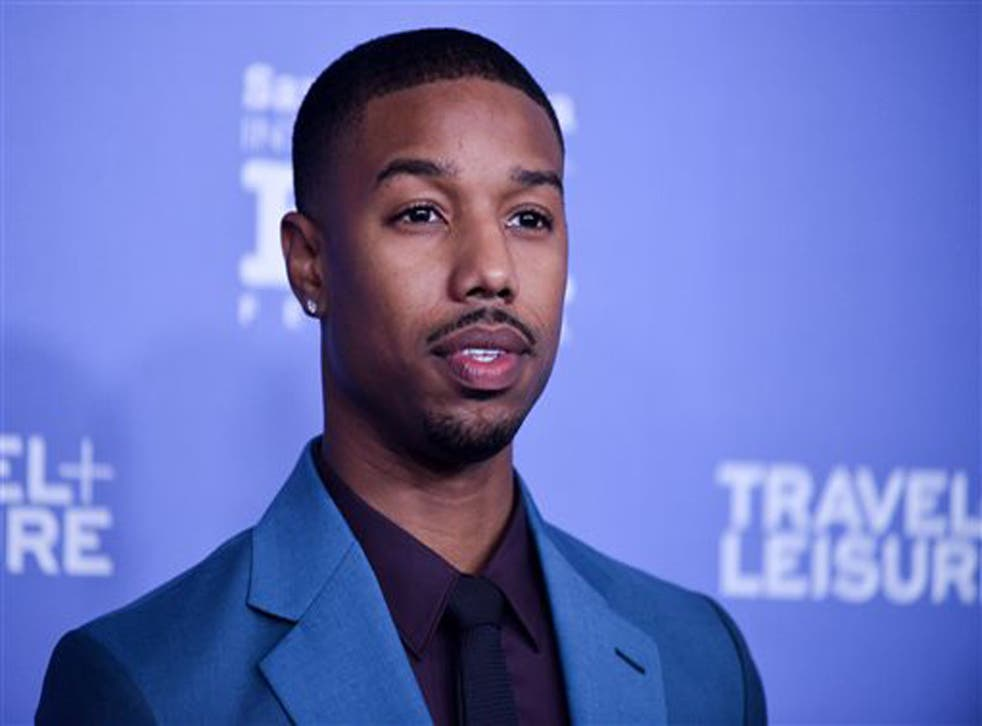 Michael B Jordan has responded to criticism he shouldn't play a 'traditionally white' character
