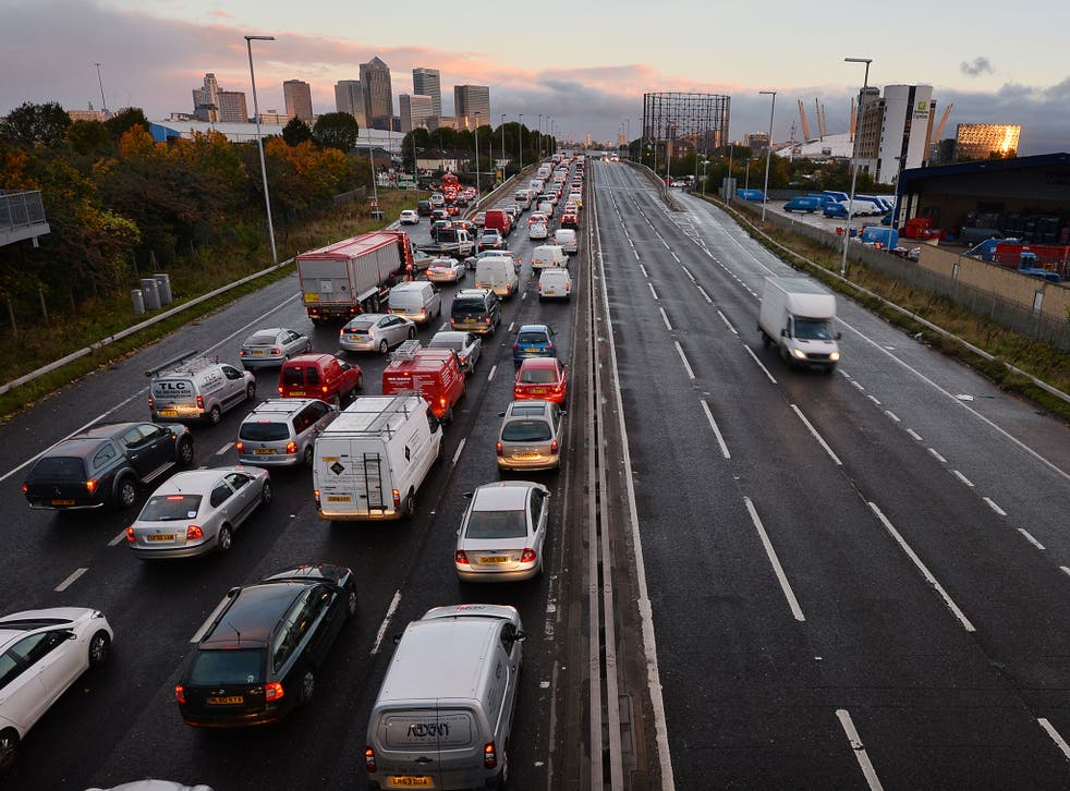 33 per cent of all car journeys in Britain now affected by road maintenance projects
