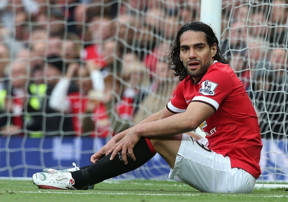 Image result for falcao manchester united