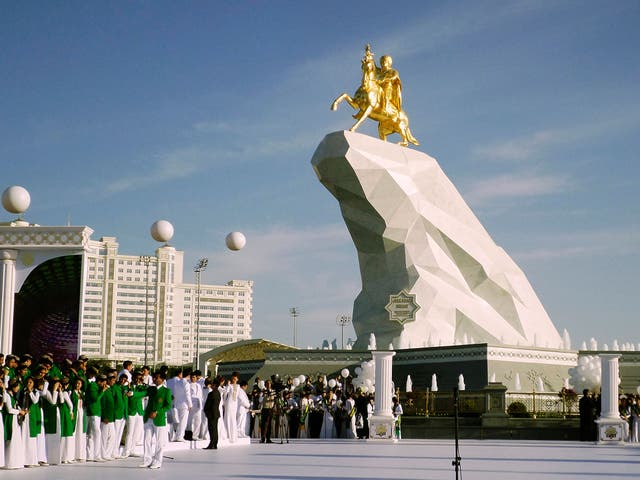 <p>Ashgabat, Turkmenistan</p>