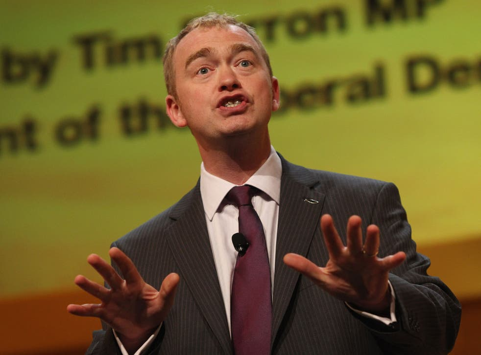 'We ended in a situation where people did not know what we stood for,' Tim Farron says of his party's time in the Coalition