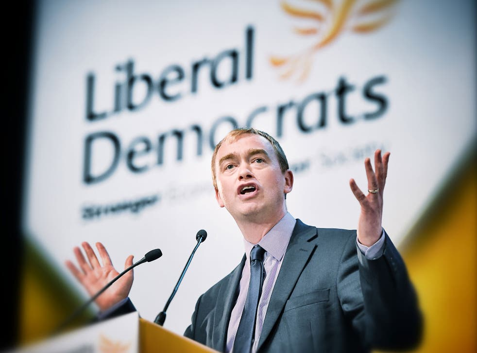 Mr Farron revealed that if he won the leadership of the Liberal Democrats the party would abandon trying to shadow every government department in the House of Commons, concentrating instead on a few key issues that motivated the party's membership