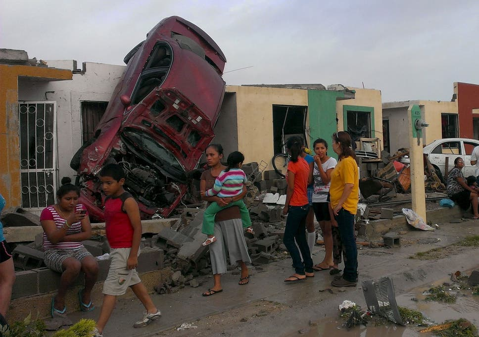 Freak US-Mexico tornado rips baby girl from mother's arms