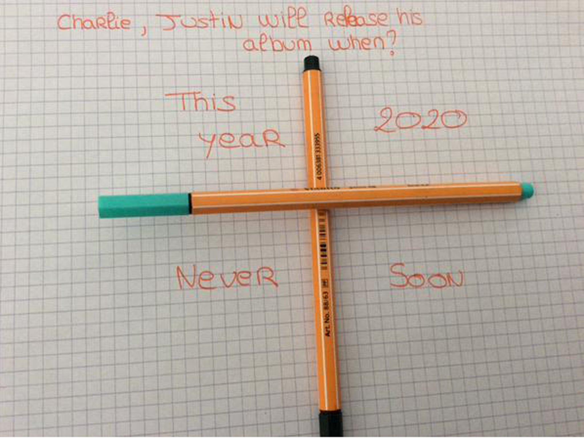 Charlie charlie challenge how to banish the demon from your charlie charlie challenge how to banish the demon from your facebook and twitter news feed the independent biocorpaavc Images