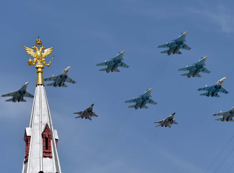 Russian air force jets
