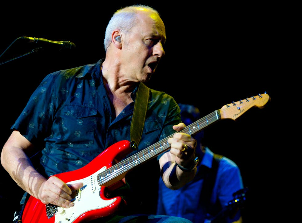 Mark Knopfler is supported by a fantastic bunch of talented multi-instrumentalists
