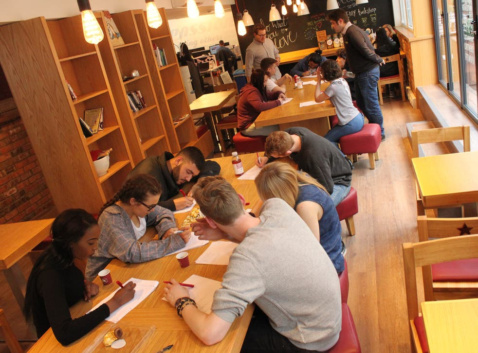 Pret A Manger organises its school leavers programme to start every September, so apprentices have a group of peers