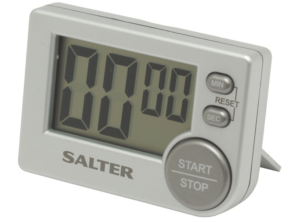 10 Best Kitchen Timers The Independent On Off Timer There Might Not Be Anything Flashy About This Plastic Digital Number But You May Recognise Is As One Used Great British Bake