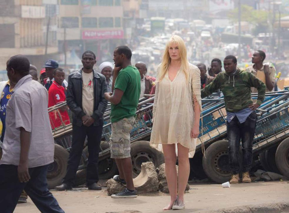 Telepathic: Daryl Hannah's Angel stars in a story that takes in Nairobi, Seoul and more